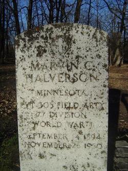 Marvin C Halverson