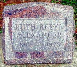 Ruth Beryl <i>Roberts</i> Alexander