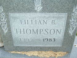 Lillian Belle <i>Huckaby</i> Thompson