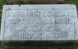 Mary Margaret <i>Lovelace</i> Burch