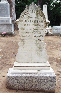 Charles Edmund Matheson