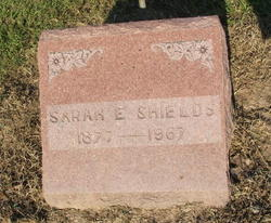 Sarah Elizabeth <i>Pinson</i> Shields