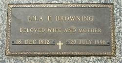 Delila Elizabeth Lila <i>Cox Adams</i> Browning