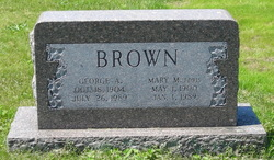 Mary M <i>Edris</i> Brown