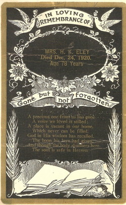 Harriet Catherine <i>Mangrum</i> Eley