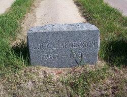 Lula Lee <i>Moore</i> Anderson