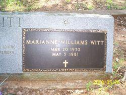 Marianne <i>Williams</i> Witt