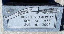 Ronnie G. Pops Amerman