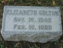 Elizabeth R B <i>Foster</i> Colton
