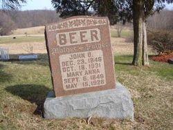 Mary Anna <i>Lantz</i> Beer