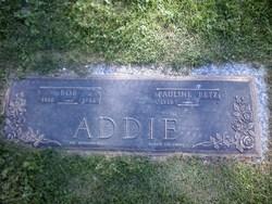 Pauline <i>Betz</i> Addie