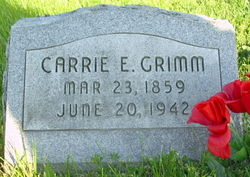Carrie E. <i>Vickers</i> Grimm