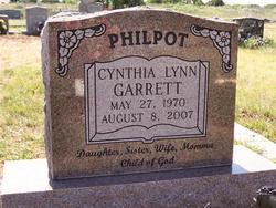 Cynthia Lynn <i>Garrett</i> Philpot