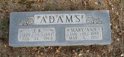 J W Adams