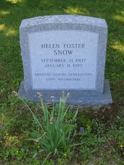 Helen Peg <i>Foster</i> Snow