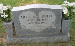Lillie Mae <i>Conn</i> Bailey