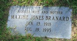 Maxine Virginia <i>Jones</i> Branard