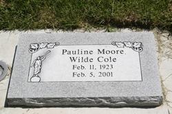 Pauline Moore <i>Wilde</i> Cole
