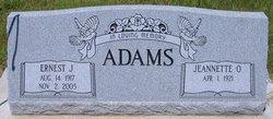 Ernest J. Jay Adams