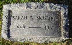Sarah Westcott <i>Coleman</i> McGeoch