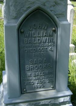 Sara <i>Brooks</i> Baldwin