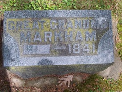 Great Grandma Markham