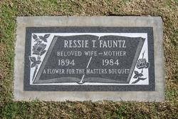 Ressie Theo <i>Sloan</i> Fauntz