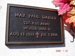 Max Paul Daigle