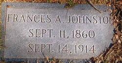 Frances A. <i>Bell</i> Johnston