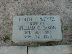 Edith C <i>Wentz</i> Eason