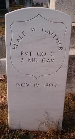Beale W Gaither