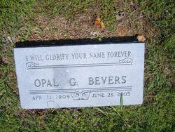 Opal <i>Goodwin</i> Bevers-Main