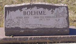 Heber John Boehme