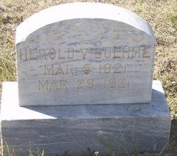 Harold Verl Boehme