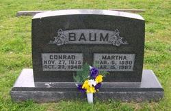 Martha <i>Dahlman</i> Baum