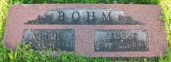 Minnie Wilhemine <i>Zell</i> Bohm