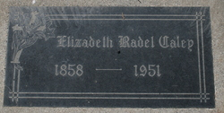 Elizabeth A. Rabel Lizzie <i>Poole</i> Caley