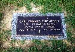 PFC Carl Edward Thompson