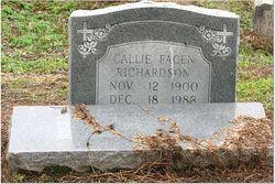 Callie <i>Facen</i> Richardson