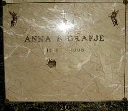 Anna B. <i>Nakozny</i> Grafje