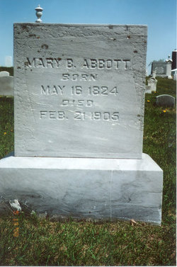 Mary B <i>Cox</i> Abbott