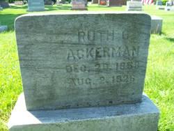 Ruth G. Ackerman