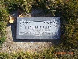 Emma Louisa <i>Berlin</i> Allen