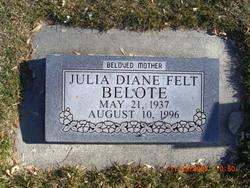 Julia Diane <i>Felt</i> Belote