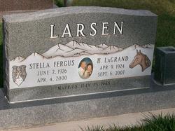 Stella <i>Fergus</i> Larsen