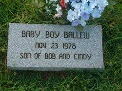 Son of Bob & Cindy Ballew