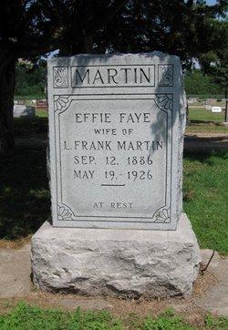 Effie Faye <i>McMillan</i> Martin