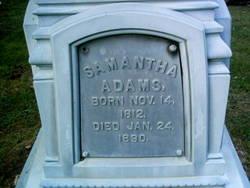 Samantha Adams