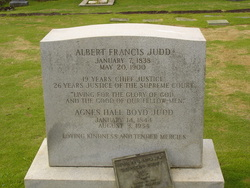 Albert Francis Judd