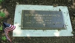 Donald Eugene Hazelgrove, Sr